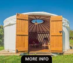 Camping and Glamping in a North Wales campsite