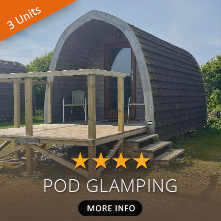 Pod Glamping Accommodation